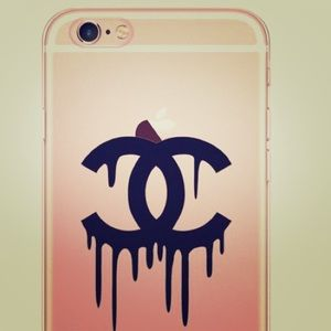 Clear Chanel Logo IPhone 6/6s Case